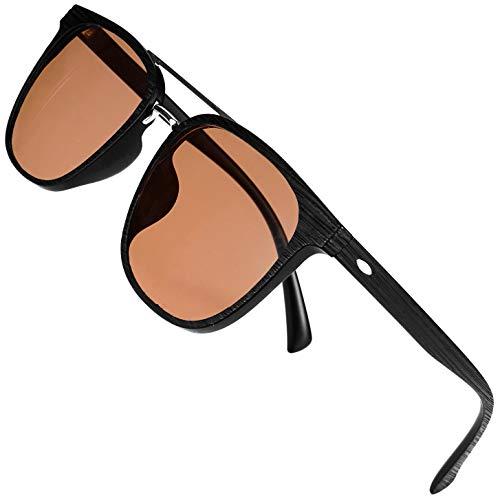 Color Blind Glasses for Men/Women - Premium High Contrast Colorblind Glasses - Lightweight Men's Color Blind Correcting Glasses Enhanced Color Correction for Red, Green, Blue, Yellow, Purple (Black).