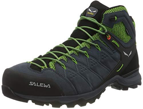 Salewa Herren MS Alp Mate Mid WP Trekking- & Wanderstiefel, Ombre Blue/Pale Frog, 44 EU
