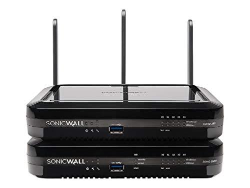 SonicWall SOHO 250 Wireless-N Advanced Edition Sicherheitsgerät GigE WLAN Dualband SonicWALL Secure Upgrade Plus (3 Jahre Option)