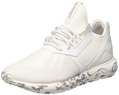adidas Tubular Runner, Scarpe da Ginnastica Uomo, Bianco (Vintage White S15/St/Vintage White S15/St/Light Onix), 43 1/3 EU