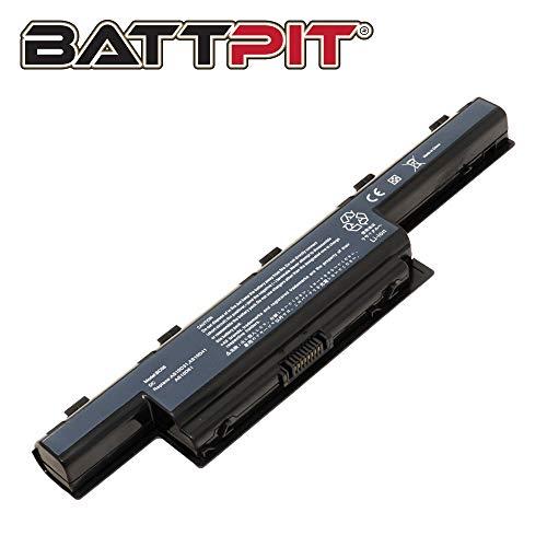 BattPit Laptop Battery for Acer TravelMate 5335 5742 5735 5740 5744 5760 5760G 8473T 8572T P253-M P253-MG P273-M P273-MG P643-M P643-MG - [6-Cell/4400mAh/48Wh]