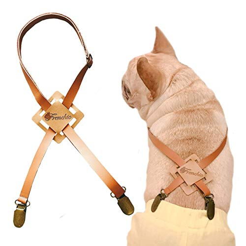 Frenchic Pet ® Handmade Pet Suspender Adjustable for Diapers Pants Dog Wrap Belly Band