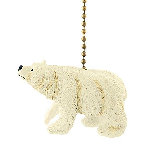 Arctic Polar Bear Ursus Carnivore Ceiling Fan Light Pull Chain