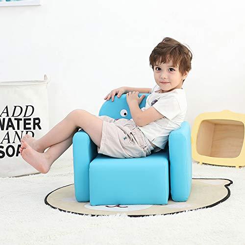 Emall Life Sillón para niños Multifuncional, Silla y Mesa para niños/Taburete con una Sonrisa Div