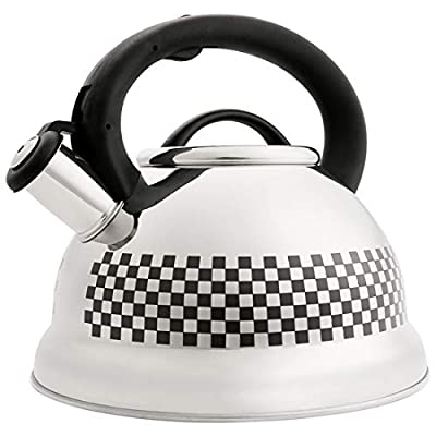 VICALINA Color Change Tea Kettle with Heat-Proof Handle, Stainless Steel Teapot Stovetops 3.2 Quart
