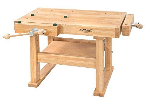RAMIA Workbench Height Adjustable for Children, 1 Stück, HB-CH1000