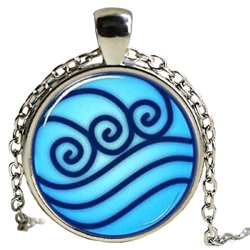 Collares colgantes 2021 Charms Avatar El Último Collar Airbender, Leyenda De Korra Aguas Tribu Gargantilla Jewelry1