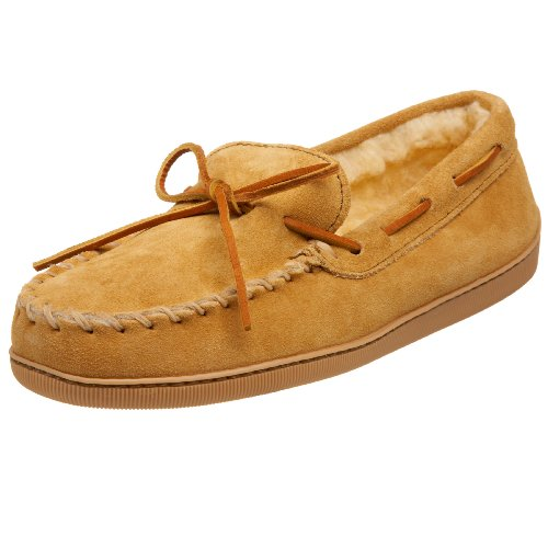 Minnetonka Pile Lined Hardsole 3901, Mocassins (loafers) homme - Beige - Beige (marron clair), 42