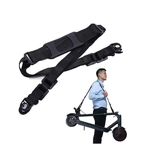 Linghuang Roller Schultergurt für Xiaomi Mijia M365 Elektroroller Verstellbarer Tragegurt Kinder Fahrräder Faltbares Fahrrad Zubehör