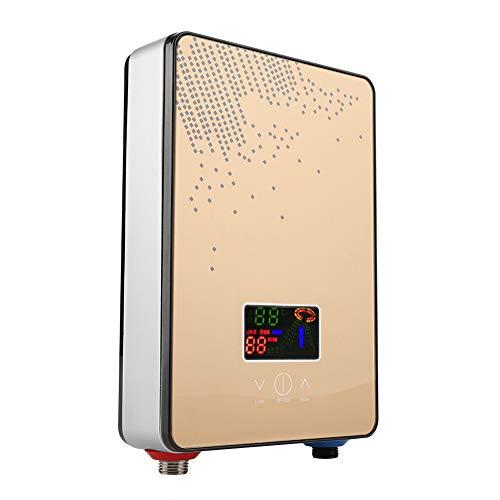 Focket Durchlauferhitzer, 220V 6500W Durchlauferhitzer ohne Tank, Durchlauferhitzer-Duschsystem für die Dusche im Badezimmer