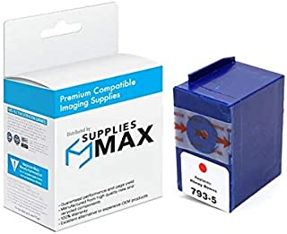 SuppliesMAX Compatible Replacement for Pitney Bowes DM-100i/200 Red Postage Meter Inkjet (793-5)
