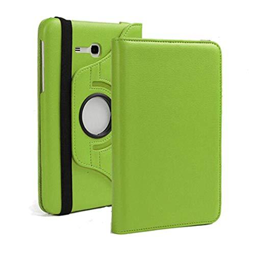 Funda de rotación de 360 grados para Samsung Galaxy Tab 3 Lite 7 0 Cover para Samsung Tab SM-T110 SM-T111 SM-T113 SM-T116 Tablet Case-Verde