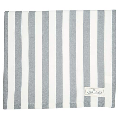 GreenGate - Tischdecke - Rigmor - grey - Baumwolle - 145x250cm