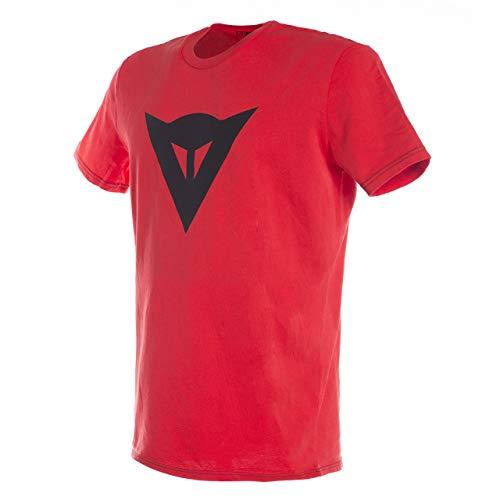 Dainese 1896742_615_L Camiseta, Rojo/Negro, L
