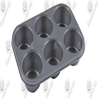 Euronovità en-87013Moule Moule, Fonte d'aluminium, Noir, 32x 22x 4cm