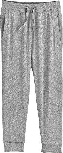 Coolibar UPF 50+ Kid's Conico Jogger Pants - Sun Protective (Medium- Grey Heather)