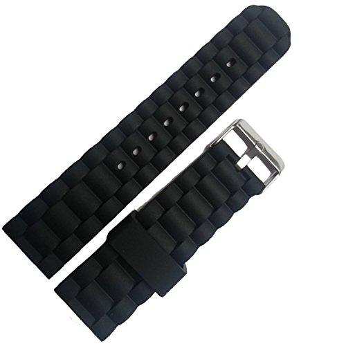 Chtom Reloj de pulsera de la banda de la correa de la correa de las mujeres de las mujeres de los cuero genuino de 10 mm