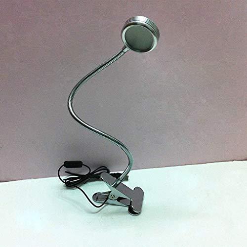 Lampe LED, Lampe col de Cygne Flexible, Clip, Petite Lampe de Lecture Lampe de Bureau, Protection des Yeux