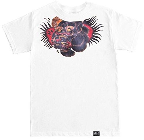 FTD Apparel Men's Conor McGregor Chest Tattoo T Shirt - Medium White
