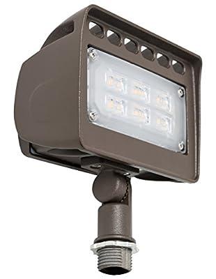 Westgate Lighting LED Flood Light With Knuckle Mount – Best Security Floodlight Fixture For Outdoor, Yard, Landscape, Garden Lights – Safety Flood Lights - UL Listed 7 Year Warranty