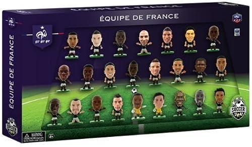 oferta de tienda SoccerStarz France International 24-Figurine Team Pack by SoccerStarz SoccerStarz SoccerStarz  bajo precio
