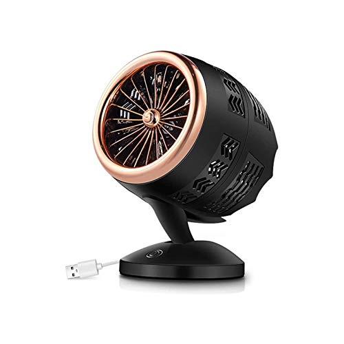 Calentador eléctrico, calentador de ventilador Mini calefactor eléctrico Calentador eléctrico Calentador de aire caliente Blower Winter Warmer Machine Escritorio Calefacción Estufa Radiador Desktop pa