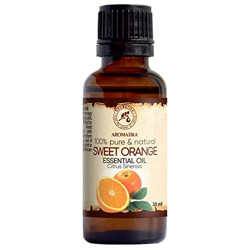 Zoete sinaasappel - etherische olie 30ml, 100% puur & natuurlijk, essentiële olie - aromatherapie - geurolie - geurverspreider - ontspanning - toevoegen aan bad & cosmetica - massage - wellness - aroma lamp of elektrische diffuser