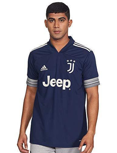 adidas Juventus FC Temporada 2020/21 JUVE A JSY Camiseta Segunda equipación, Unisex, Night Indigo/Alumina, M