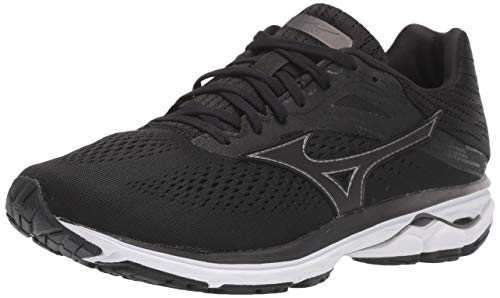 Mizuno Men's Wave Rider 23 Running Shoe, dark shadow, 11.5 D US
