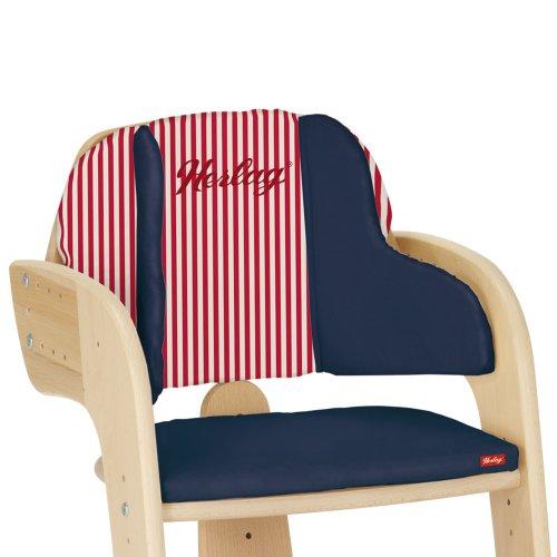 Herlag H5068-252 Sitzpolster marine/Str. rot-weiss für Tipp Topp Comfort