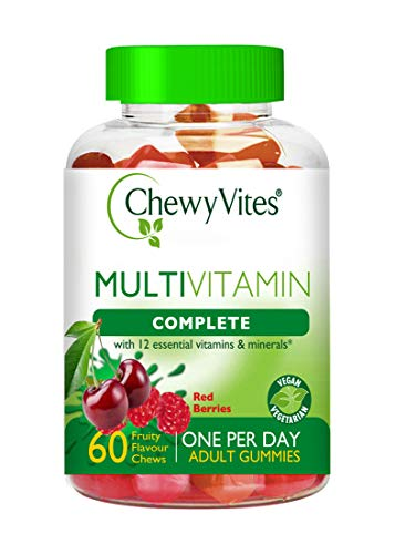Chewy Vites Adults Multivitamin Complete Berries 60's