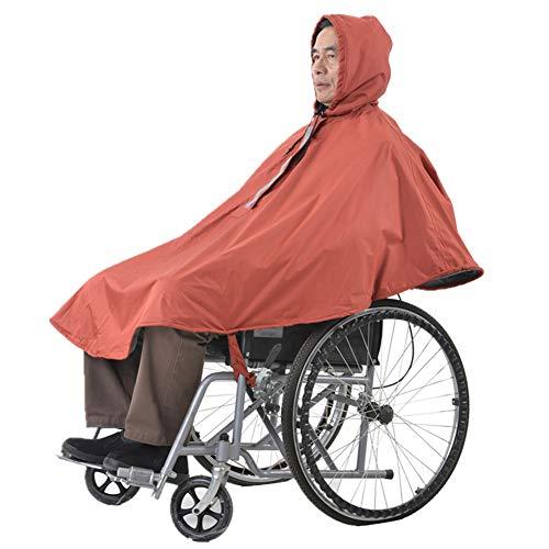 Massage-AED Rollstuhldecke Winter,Rollstuhl Poncho, Wasserdicht, Winddicht, Passend für alle normalen Rollstühle Regenschutz, Für behinderte, ältere Menschen, Rollstuhlfahrer
