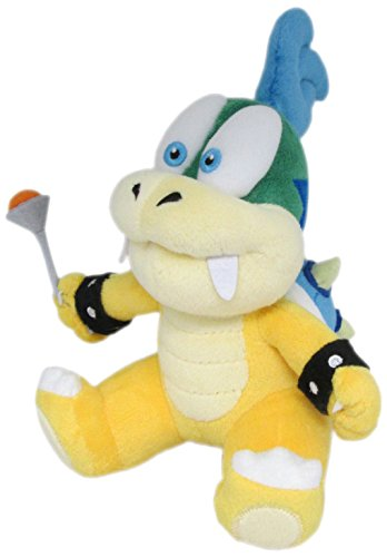 "Little Buddy Super Mario Series Larry Koopa 7"" Plush"