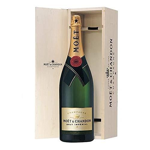 Champagne Brut'Moët Impérial' - Moët & Chandon Mathusalem 6 litri in Cassa di Legno personalizzabile