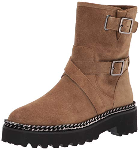 Vince Camuto Women's MESSTIA Motorcycle Boot, Dogwood, 8