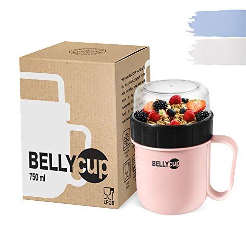 test BELLYCUP To Go Müsli Cup-BPA Kostenloser Müsli Cup für unterwegs… Deutschland