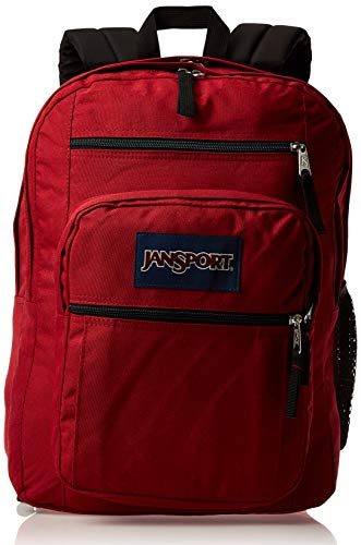 JanSport Big Student Backpack - 15-inch Laptop School Pack, Viking Red