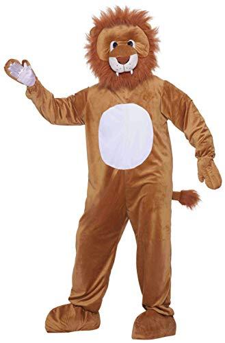 Lion Costume (Deluxe) Fancy Dress