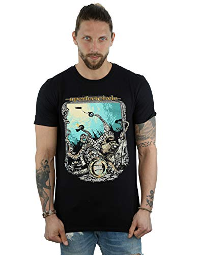 Absolute Cult Circle Hombre The Depths Camiseta Negro X-Large