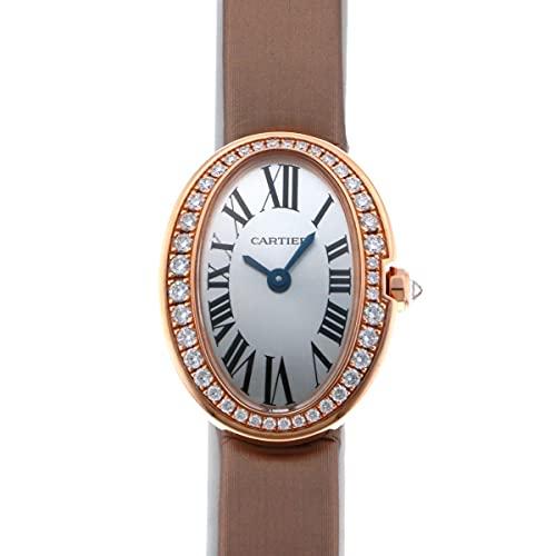 カルティエ Cartier ベニュワール ミニベニュワール WB520028 シルバー文字盤 中古 腕時計 レディース (W207066) [並行輸入品]