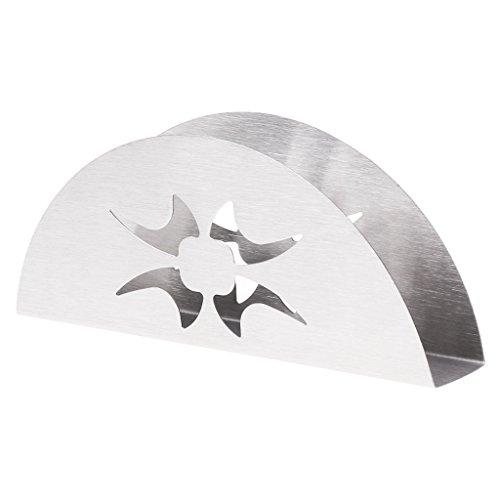 Haorw Serviettenhalter Aus Edelstahl - Serviettenständer Für Tisch Oder Küchentheke,für 15x7cm Servietten