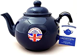 Brown Betty 6 Cup Teapot Cobalt Blue