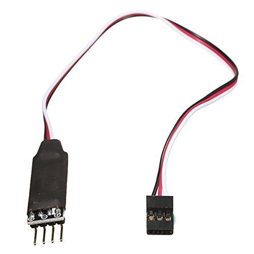 GIlH Excellway®-Dos canales controlados control remoto del interruptor interruptor del receptor Para RC