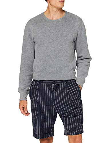 Scotch & Soda Mens Sporty Pinstripe Suit Casual Shorts, Combo A 0217, 34W