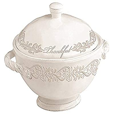 Divinity Boutique Thankful Collection Soup Tureen, Multicolor