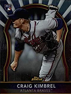 2011 Topps Finest - Craig Kimbrel - Prospect Baseball Rookie Card RC #85