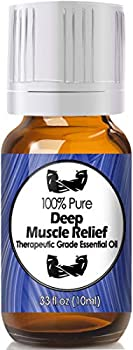 Deep Muscle Relief Essential Oil for Diffuser & Reed Diffusers  100% Pure Essential Oil  10ml
