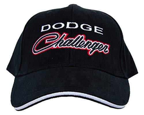 Dodge Challenger Hat Embroidered Cap, Black