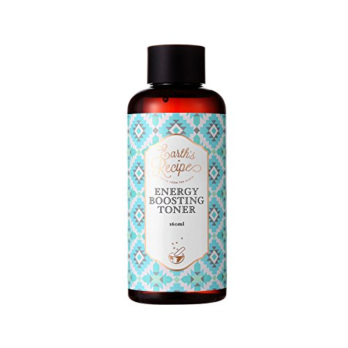 Earth's Recipe Energy Boosting Toner 160ml Alcohol Free Moisturizing Facial Toner with Tremella Mushroom 5x Moisture Boost Calming Hydrating Soothing Treatment for Sensitive and Breakout Prone Skin