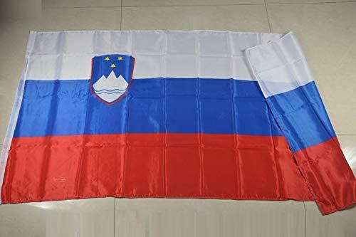 VIOY 90 * 150cm Slovenië Vlag Polyester Vlajka, Blauw, Een maat
